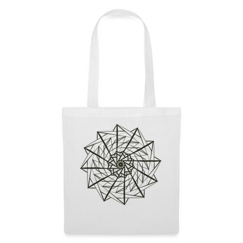 geometrico figo maglie chiare - Borsa di stoffa