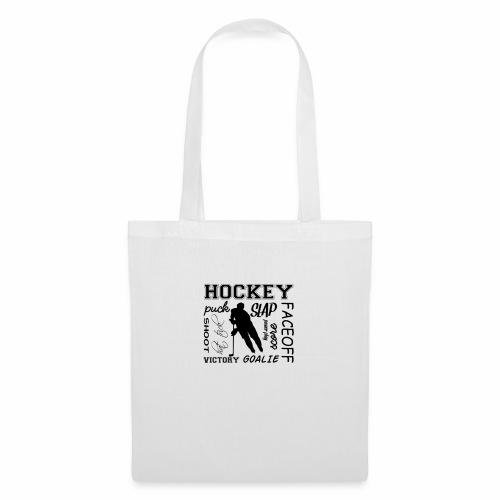 Puck slap victory - Tote Bag