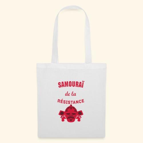 samourai de la résistance - Tote Bag