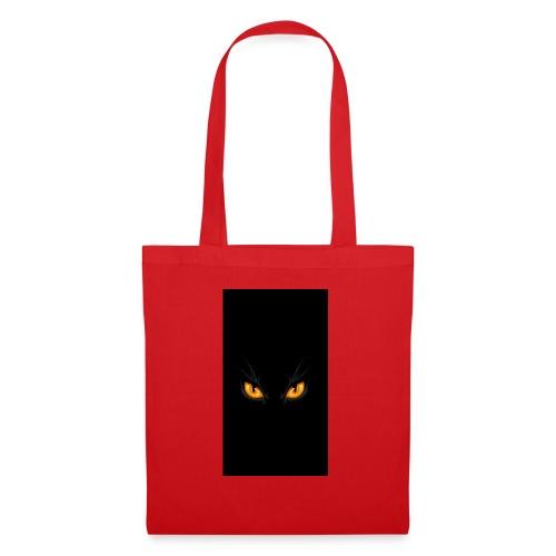 Black cat eye - Stoffbeutel