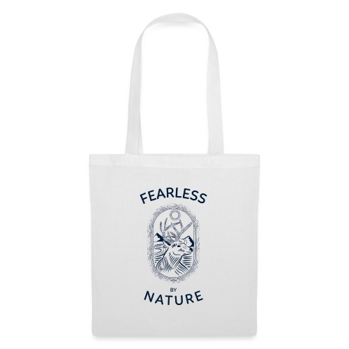 fearless by nature - Stoffbeutel