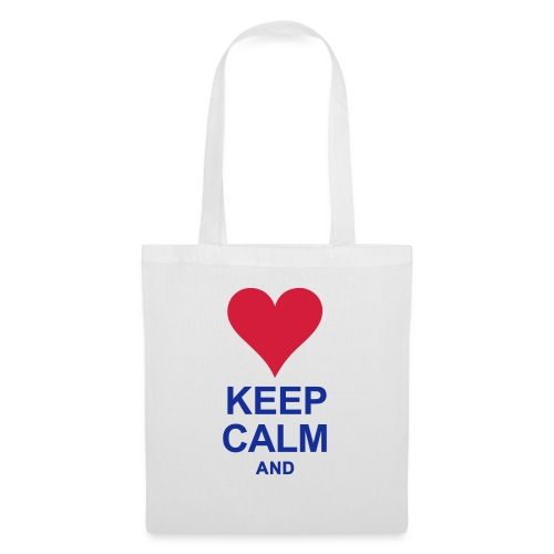Be calm and write your text - Tote Bag