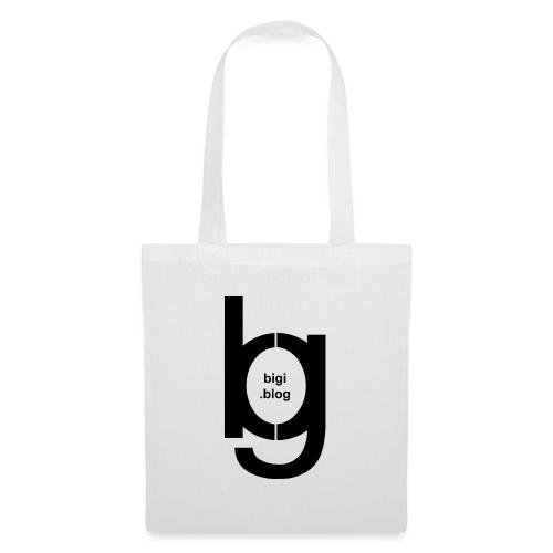 bigi logo black - Stoffbeutel