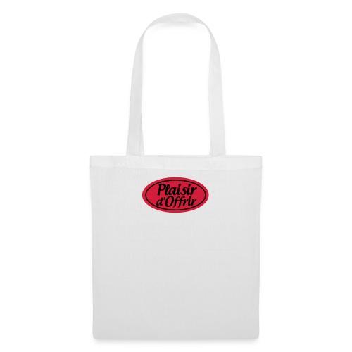 plaisirdoffrir logo tshirt plaisirdoffri - Tote Bag