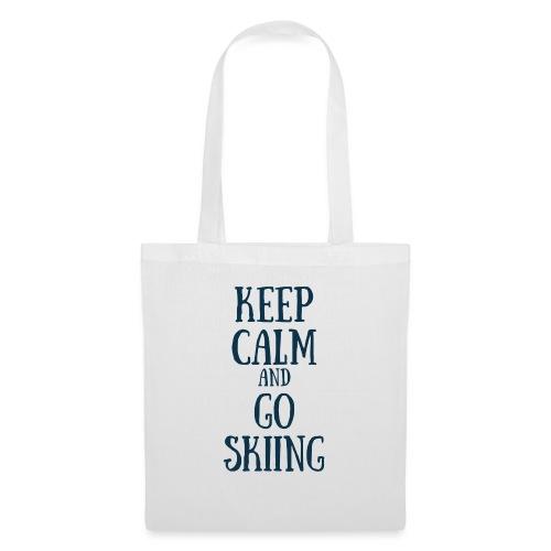 KEEP CALM AND GO SKIING - Tote Bag