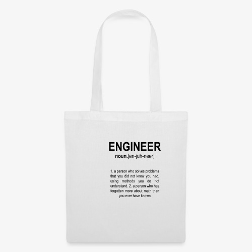 Engineer Def. 2 Black - Tote Bag