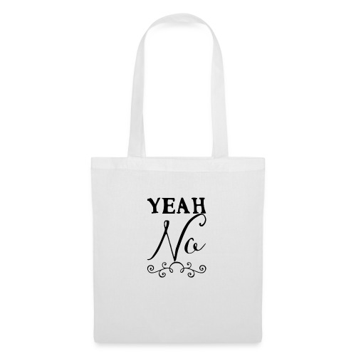 Yeah No - Tote Bag