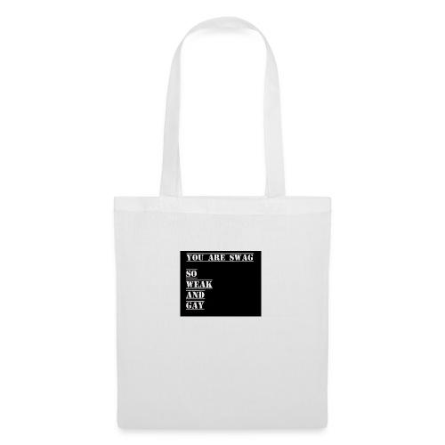So weak and gay shirt - Tote Bag
