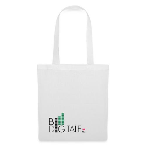 logo bidigital negativ - Stoffbeutel