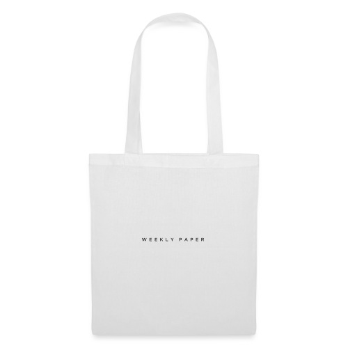Weekly Paper - Tote Bag