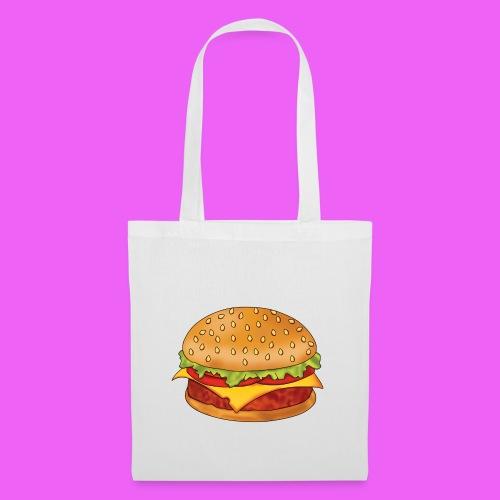 hamburguesa - Bolsa de tela