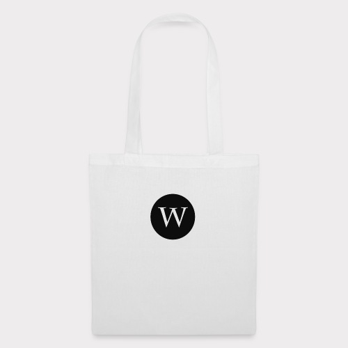 WHITE W CIRCLE - Tote Bag