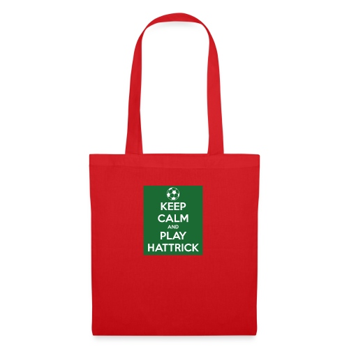 keep calm and play hattrick - Borsa di stoffa