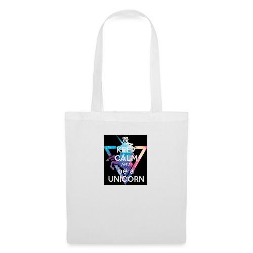 keep calm and be a unicorn - Tote Bag