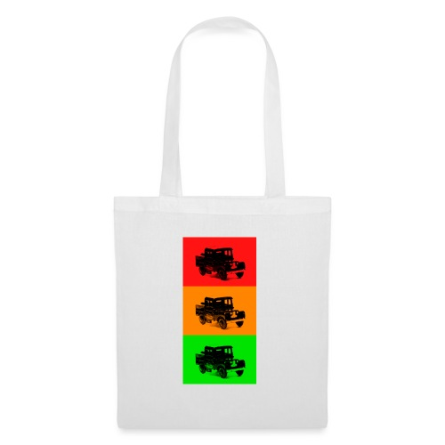 Retro Land-Rover - Tote Bag