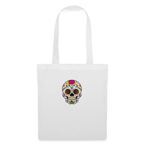 skull3 - Borsa di stoffa