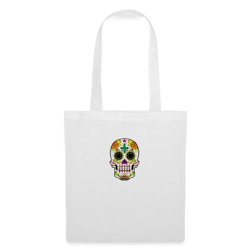 skull4 - Borsa di stoffa