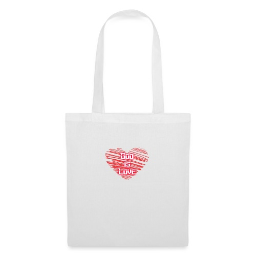 God is love - Bolsa de tela