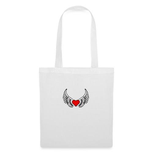 corazon-bonito-para-imprimir-png - Bolsa de tela