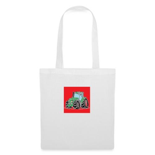 tracteur 1 rouge - Tote Bag