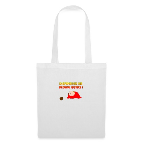 Flying Bum (diagonal) - with text - Tote Bag