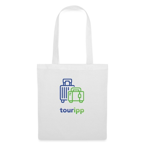 Logo con valigie - Borsa di stoffa