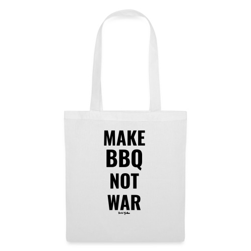 Make BBQ not war! - Tas van stof