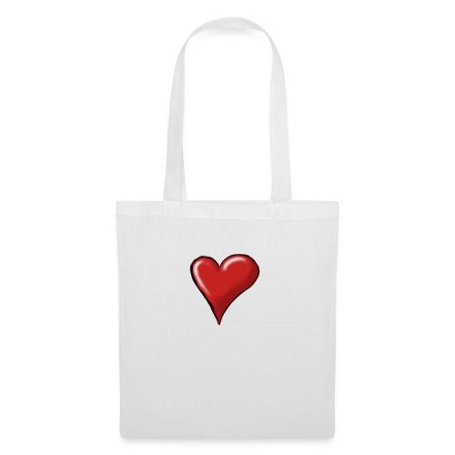 Love (coeur) - Sac en tissu