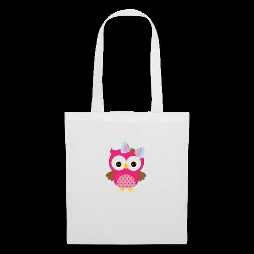 Girly Owl - Tote Bag