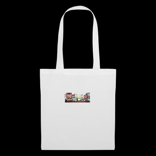Pretty Dutch town houses - Tote Bag