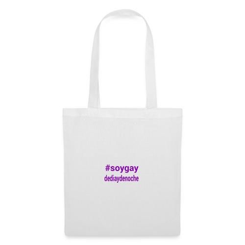 #soygaydediaydenoche - Bolsa de tela