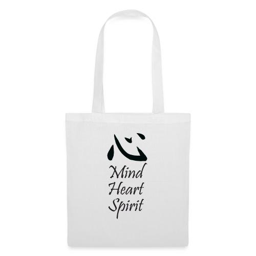 Studio Kokoro Mind Heart Spirit black - Tote Bag