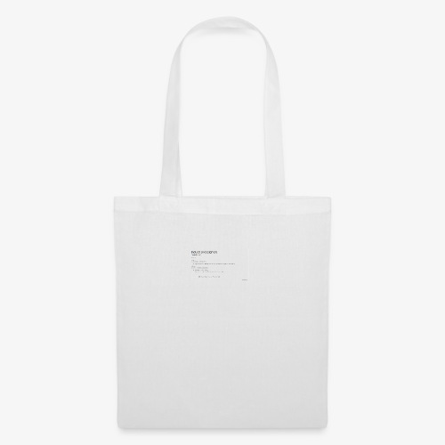 Industrial Designers' must have - Tote Bag