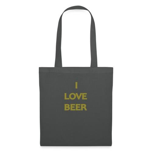 I LOVE BEER - Borsa di stoffa