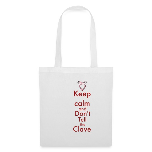 Keep calm and don't tell the Clave - Torba materiałowa