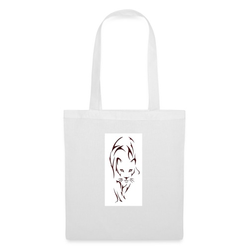Big cat outline - Tote Bag