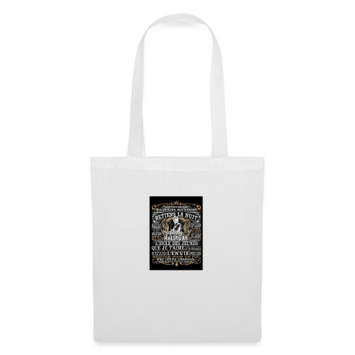 Johnny hallyday diamant peinture Superstar chanteu - Tote Bag