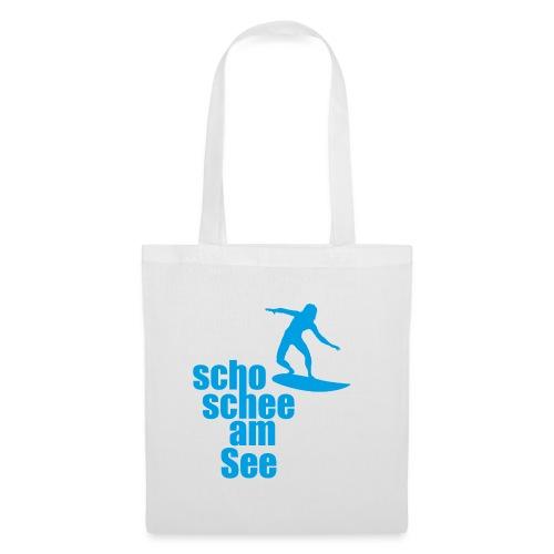 scho schee am See Surfer 04 - Stoffbeutel