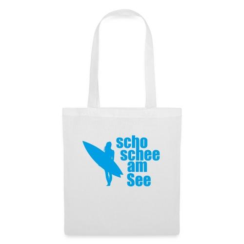 scho schee am See Surferin 03 - Stoffbeutel