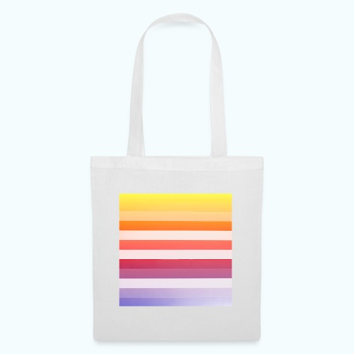 Rainbow Abstract Acrylic Painting - Tote Bag