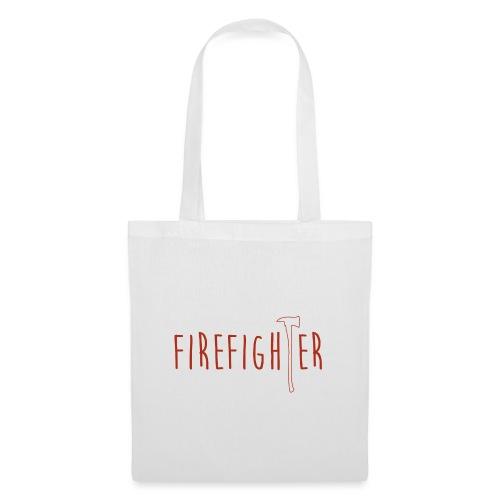 Firefighter Axt - Rot - Stoffbeutel