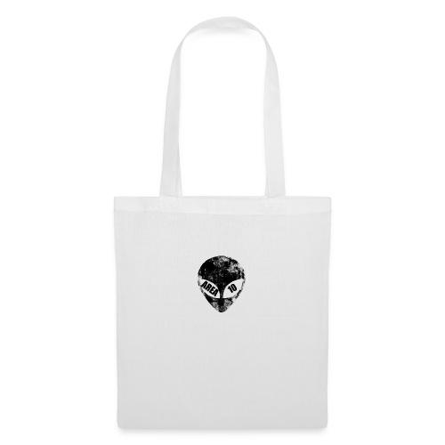 area 10 plain logo male polo top - Tote Bag