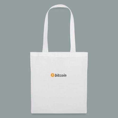Bitcoin Logo #BTC - Bolsa de tela
