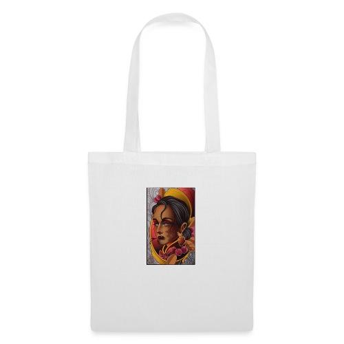 Dama antigua - Bolsa de tela