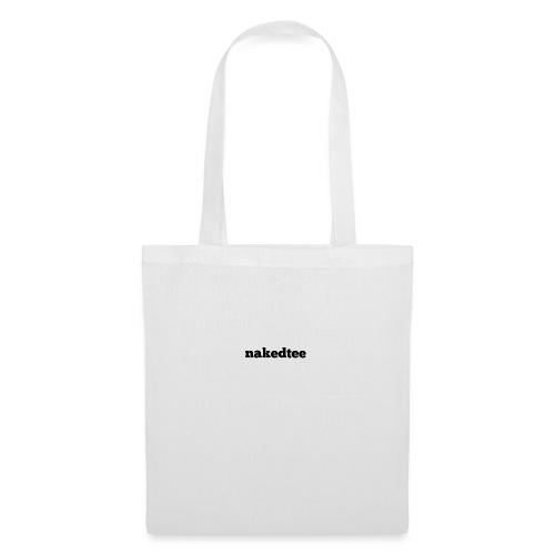 nakedtee - Tote Bag