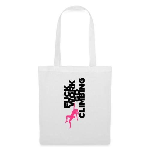 Go Climbing girl! - Tote Bag