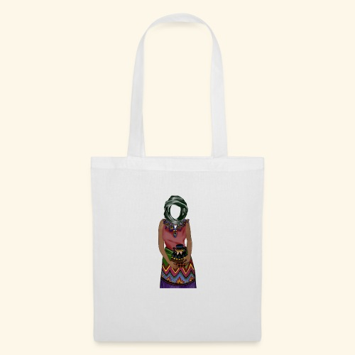 Femme avec jare - Tote Bag