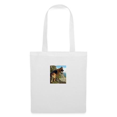un chien berger allemand 4b257eb32ea8333f132a9071d - Tote Bag