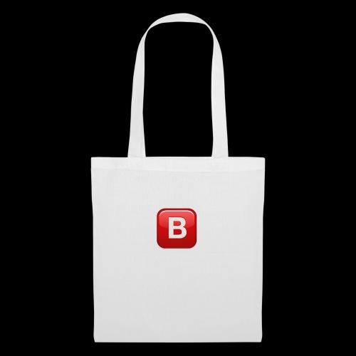 ios emoji negative squared latin capital letter b - Borsa di stoffa