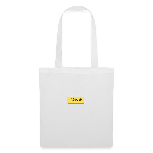 N South logo amarillo - Bolsa de tela